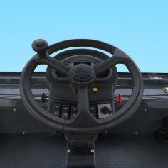 柳工CLG6212E高频 双钢轮压路机驾驶室