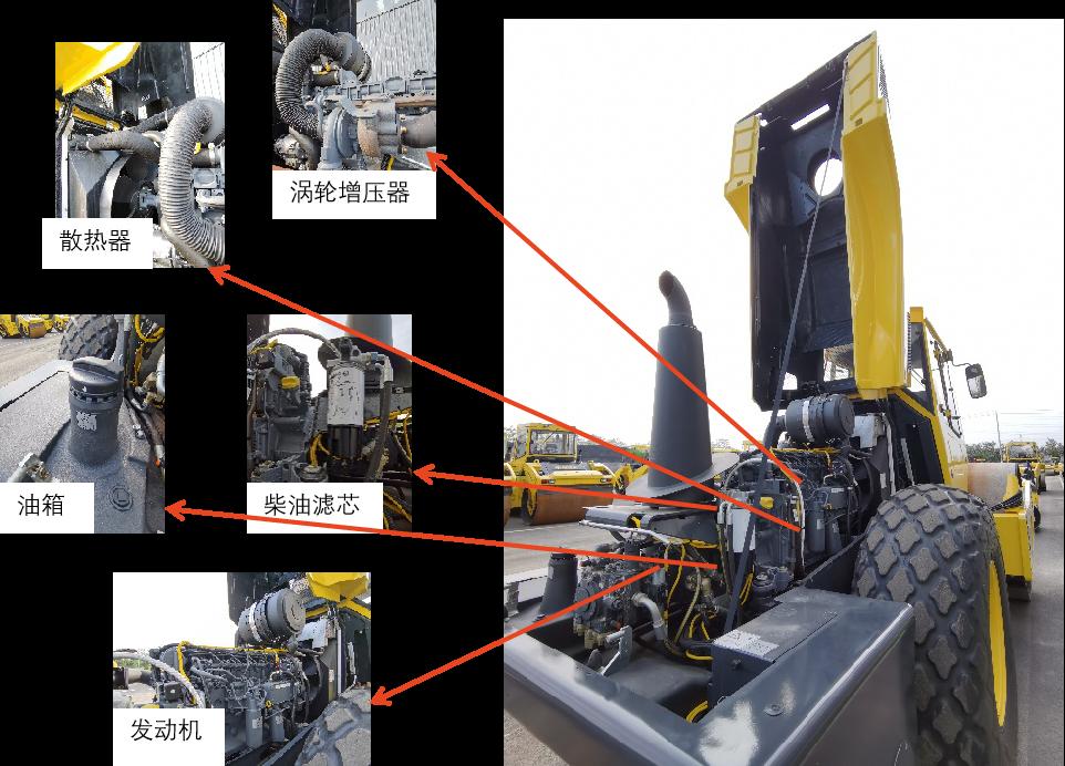 【多图】宝马格 BW220D-40压路机细节图_高清图