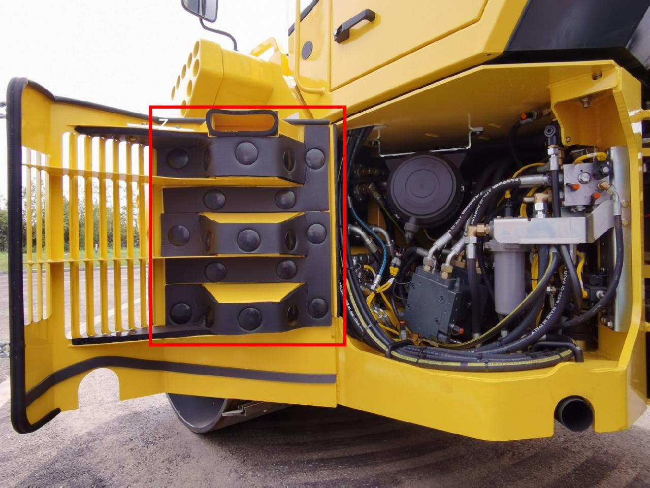【多图】宝马格 BW203AD-4压路机细节图_高清图