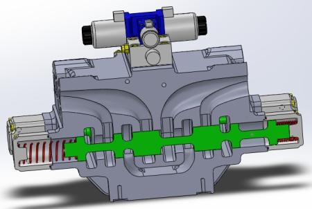 【大流量低压损滑阀】独创的整体铸造式滑阀阀组,经过流体方针优化,压力及功率损耗等主要性能指标行业领先,结构简单、维护便捷。