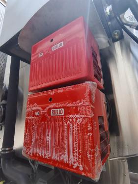 【燃烧器】燃烧器选用意大利利雅路品牌,加热时自动控制开停,减少人为的误操作,安全性高。