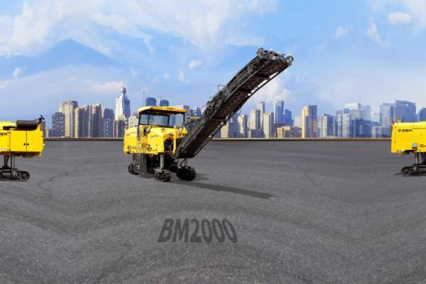 【720°全景展示】宝马格BM2000铣刨机