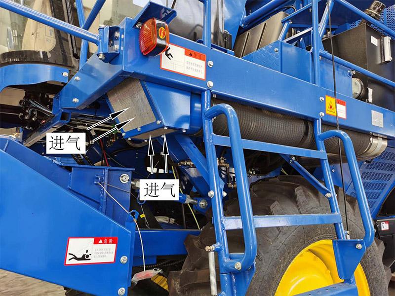 【多图】东华牌4MZ-3A自走式采棉机进气装置细节图_高清图