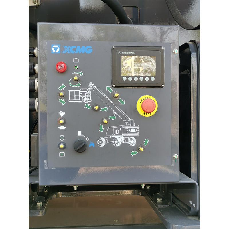 【多图】徐工XGS28直臂式高空作业平台下车控制台细节图_高清图