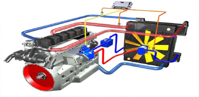 【多图】戴纳派克F2550CS/F2530CS摊铺机动力系统细节图_高清图