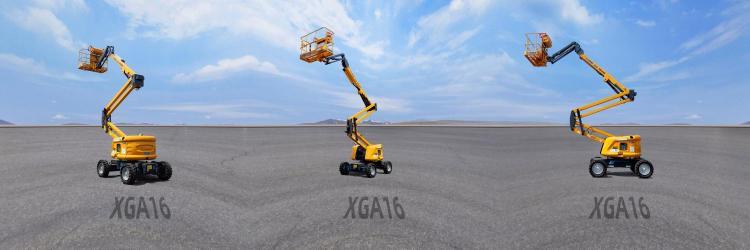 【720°全景展示】徐工XGA16曲臂式高空作业平台