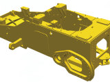 【高可靠性】所有结构件均通过卡特彼勒推土机数据库信息进行FEA(寿命、强度)分析,同时针对应力集中位置进行OMSA(应力应变)测试校核,保证结构强度及使用寿命。