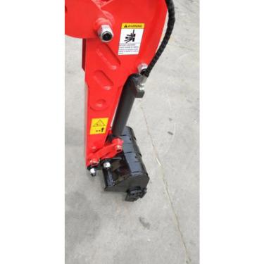 【软管内置】YX-10的液压软管是内置的,在复杂工况如室内拆除作业中,可以有效保护液压软管,减少损坏的可能性。
