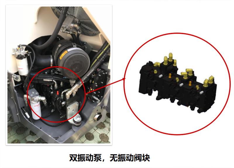 【多图】戴纳派克BCC系列双钢轮压路机振动系统细节图_高清图