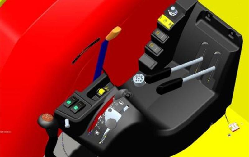 【多图】【VR全景展示】麦赛福格森全球系列拖拉机智享版驾驶室细节图_高清图