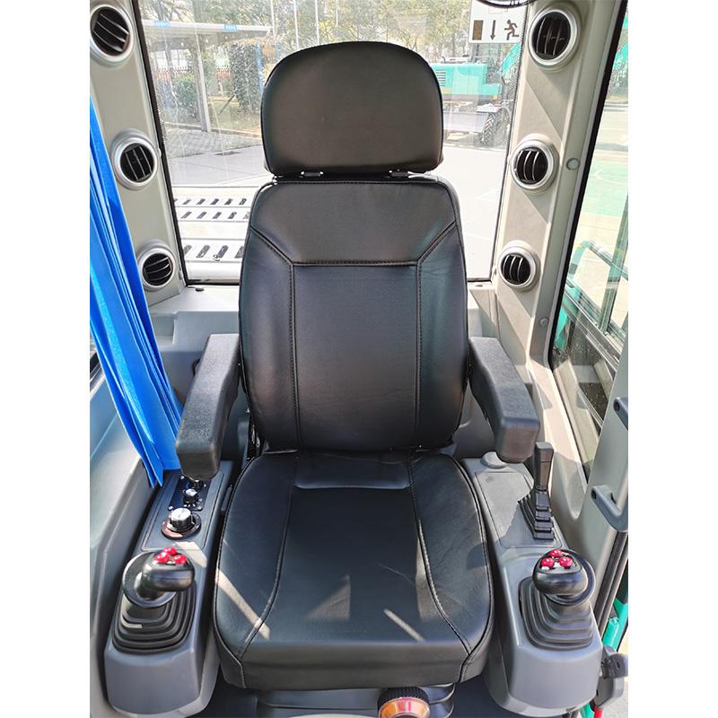 【多图】宇龙YL80W轮式挖掘机可调节座椅细节图_高清图
