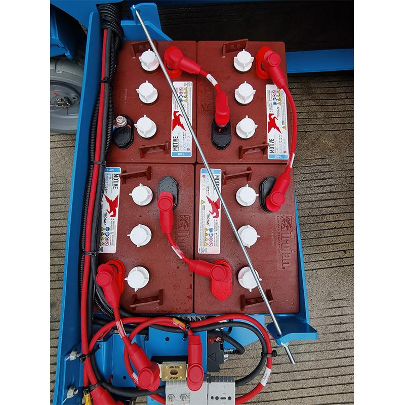 【多图】吉尼全新电驱剪型高空作业平台更少的电池更换频率细节图_高清图
