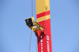 【多图】中车 TR228H 旋挖钻机导向滑轮架细节图_高清图