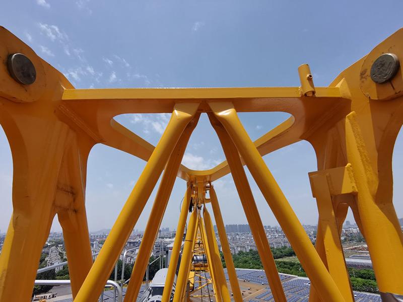 【多圖】波坦 MCT 138 塔式起重機塔帽細節圖_高清圖