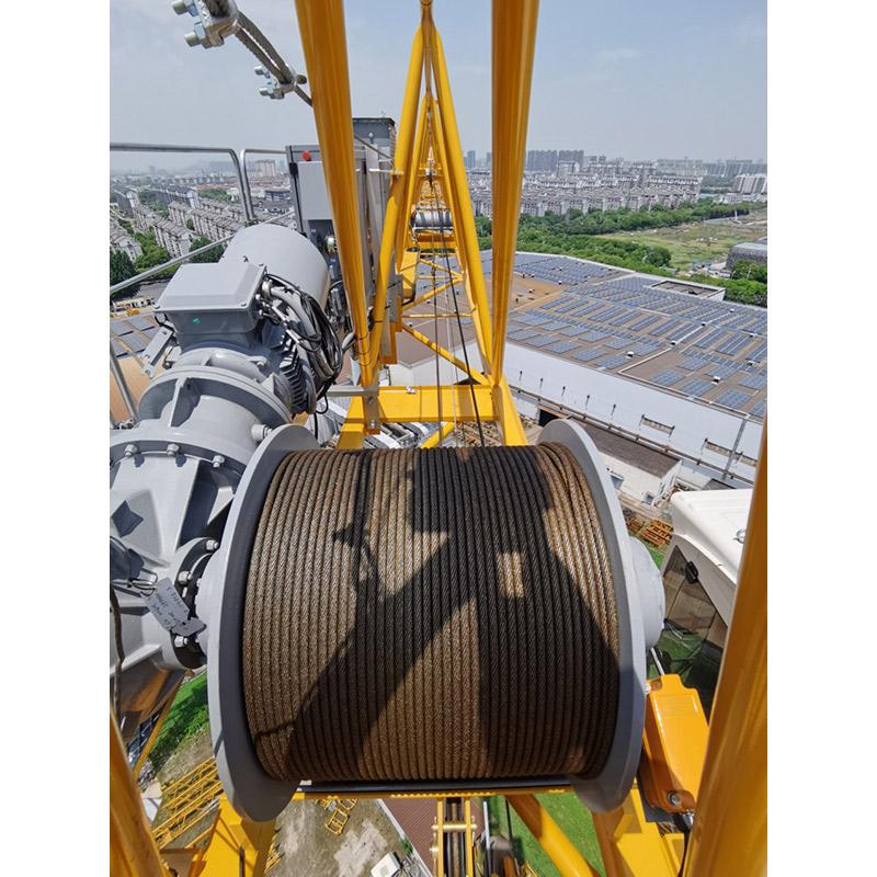 【多圖】波坦 MCT 138 塔式起重機起升機構細節圖_高清圖