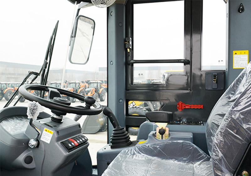 【多图】英轩重工 YX668HV 装载机驾乘舒适细节图_高清图
