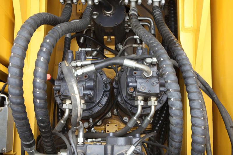 【多图】力士德SC485EV挖掘机大扭矩回转马达细节图_高清图