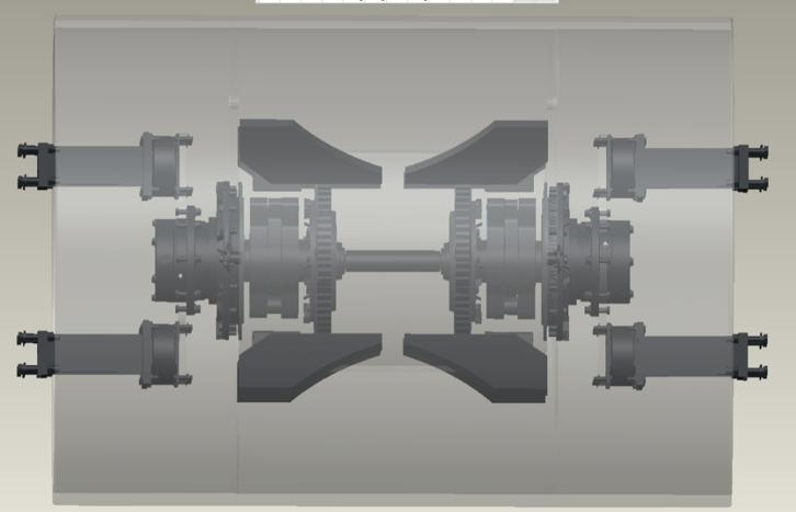 【多圖】山推SR26M-C6單鋼輪壓路機振動輪細節圖_高清圖