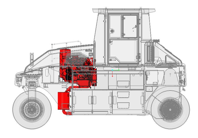 【多圖】山推SRT30H-C6膠輪壓路機細節圖_高清圖