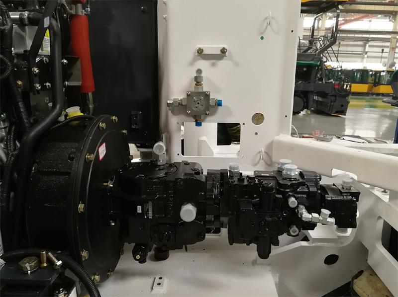 【多图】山推SMT50-C6N铣刨机液压系统细节图_高清图