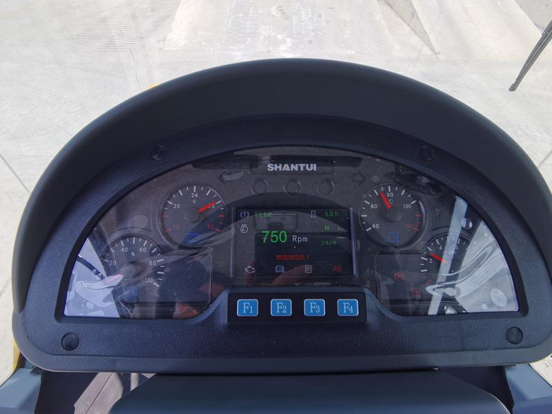 【多圖】山推SR26M-C6單鋼輪壓路機駕駛室細節圖_高清圖