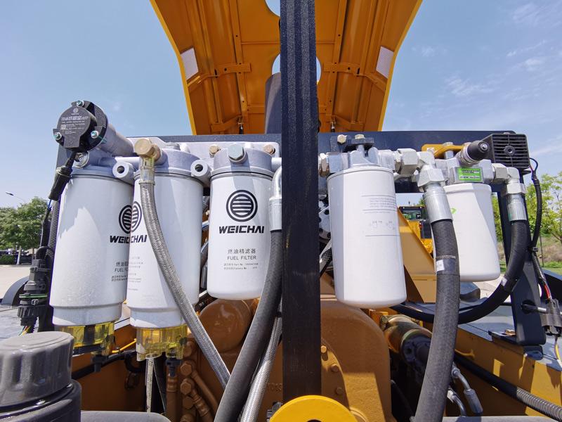 【多圖】山推SR26M-C6單鋼輪壓路機維保便利細節圖_高清圖
