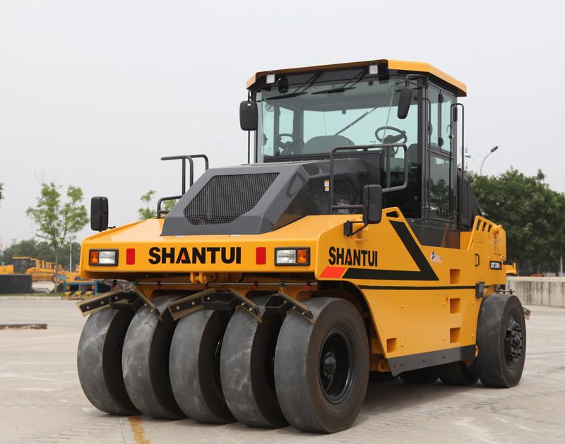 【多圖】山推SRT30H-C6膠輪壓路機駕駛室細節圖_高清圖