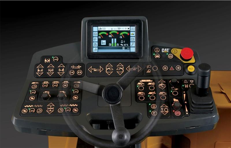 【多图】CAT®(卡特)AP655FL摊铺机操控面板细节图_高清图