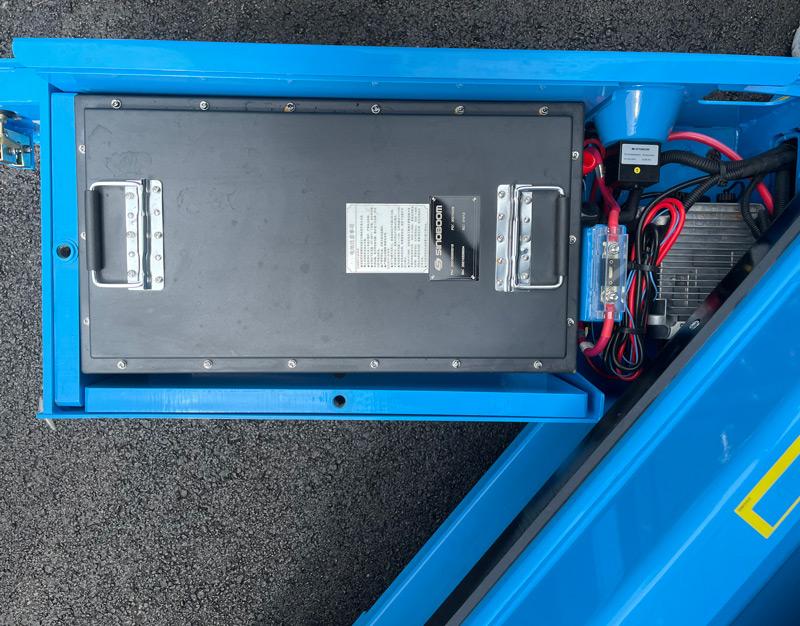 【多圖】星邦智能1212E剪叉式高空作業平臺鋰電池免維護 易操作 壽命長細節圖_高清圖