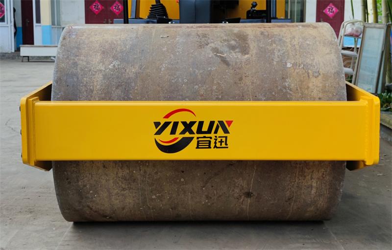 【多图】宜迅3.5吨单钢轮压路机钢轮细节图_高清图