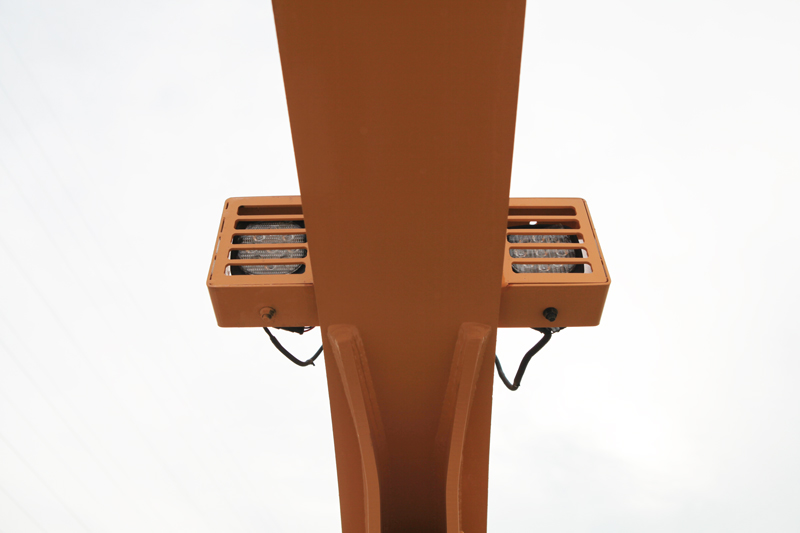 【多圖】晉工JGM9100LNZ-10輪式挖掘機動臂兩側LED燈細節圖_高清圖