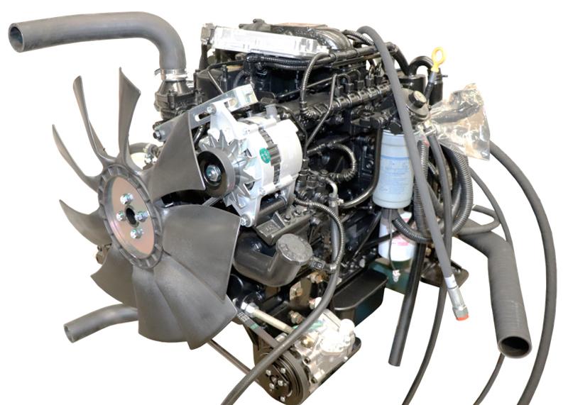 【多图】晋工JGM9100LNZ-10轮式挖掘机动力系统细节图_高清图