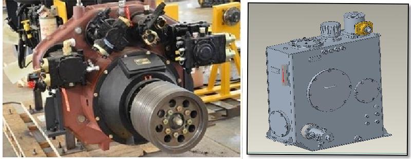 【多圖】【VR全景展示】山推SM200M-C6銑刨機液壓系統細節圖_高清圖