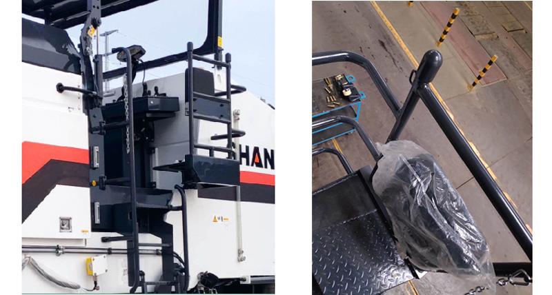 【多圖】【VR全景展示】山推SM200M-C6銑刨機扶梯座椅細節圖_高清圖