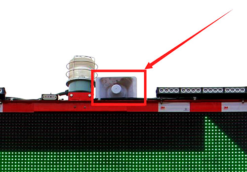 【多图】英达科技AT350安全缓冲车定向喇叭细节图_高清图