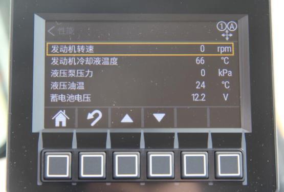 【新一代LED集成显示器】新一代LED集成显示器 卡特彼勒302 CR迷你挖掘机的智能液压系统配合全新的LCD显示器,可以通过显示器来进行作业模式的调整。在显示器上燃油表、发动机冷却液温度、工时、液压油温、电池电压等等清晰可见,充分体现了卡特彼勒302CR挖掘机的智能化。