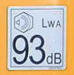 【符合美国标准发动机】符合美国EPA Tier 4 排放标准发动机。超低噪音设计,适合在封闭空间内作业。