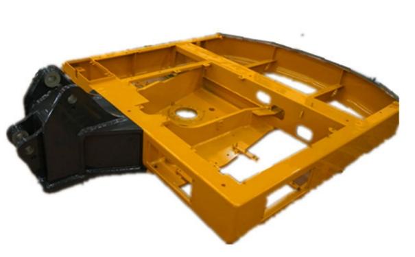 【坚固上下车架】符合力学原理的X 型下车架和D型平台设计,稳定性强。