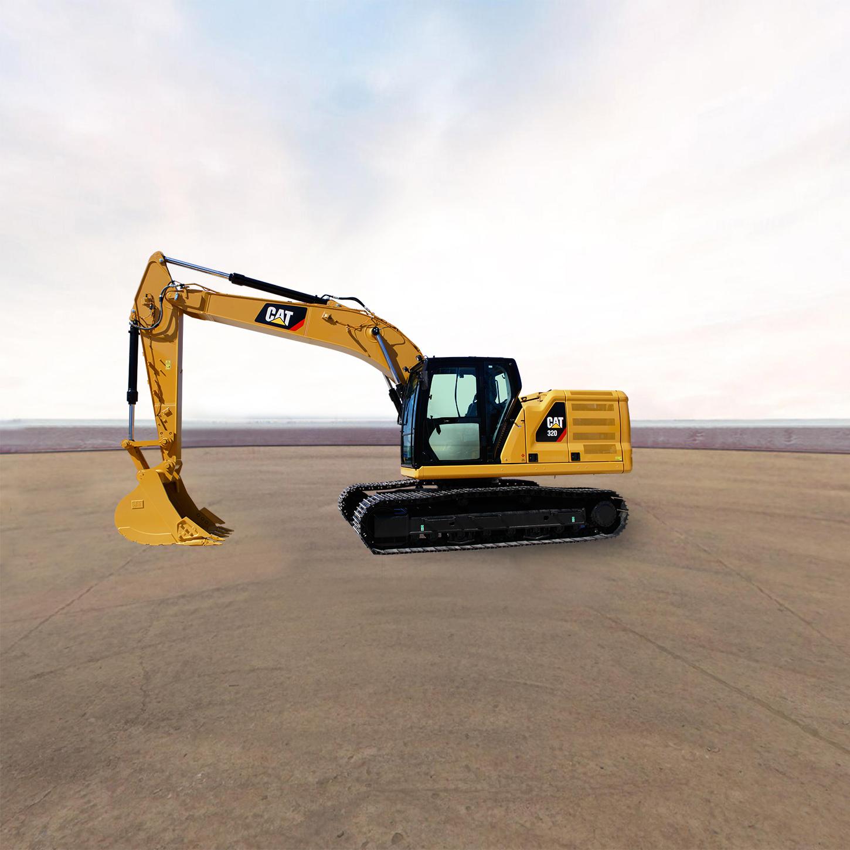 卡特彼勒新一代CAT®320液压挖掘机全景看车