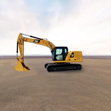 卡特彼勒新一代Cat®320液压挖掘机全景外观