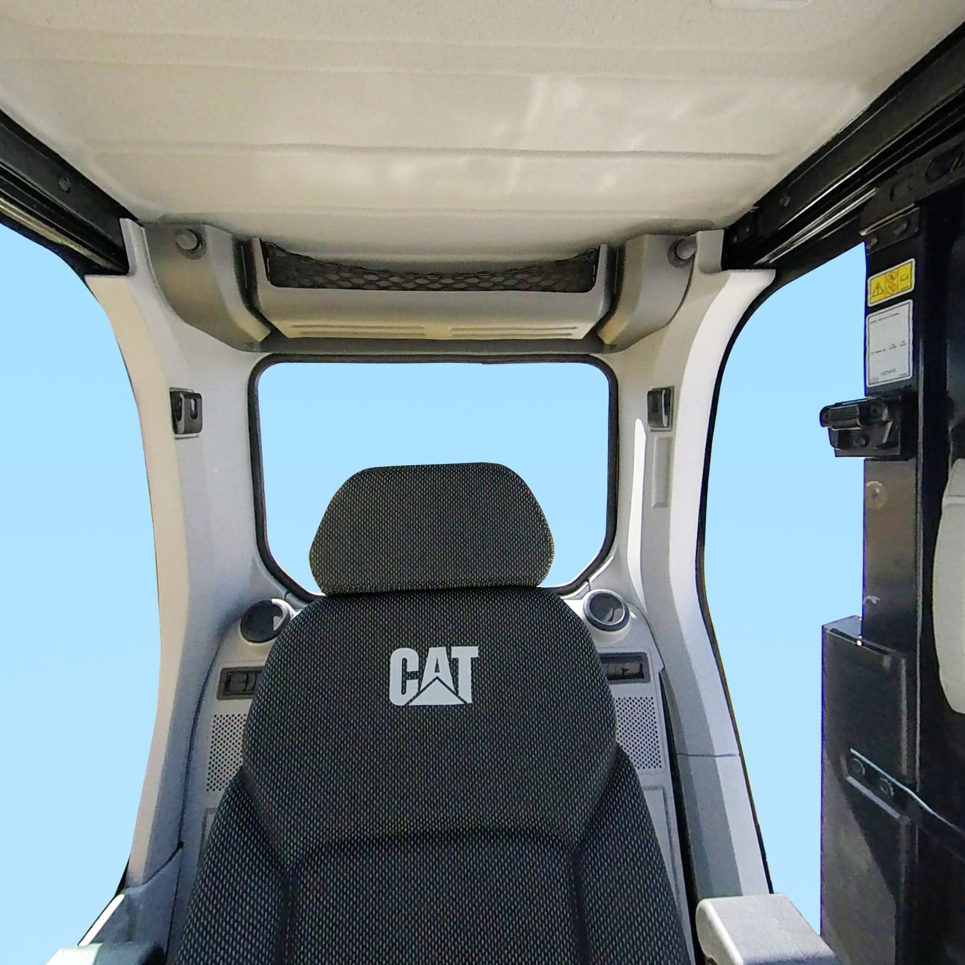 卡特彼勒新一代CAT®320液压挖掘机驾驶室
