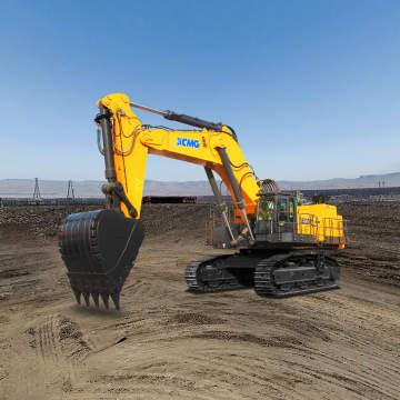徐工XE1250矿用挖掘机全景外观