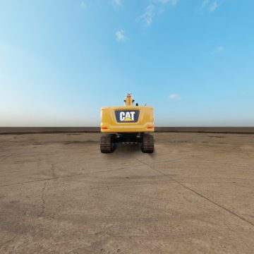 卡特彼勒新一代Cat®330 GC液压挖掘机全景外观