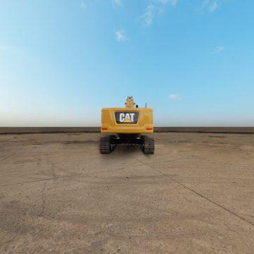 卡特彼勒新一代Cat®345 GC液压挖掘机全景外观