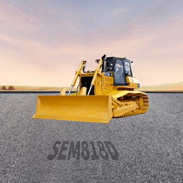 山工SEM818D湿地型推土机全景外观