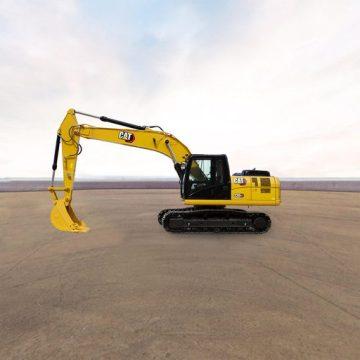 卡特彼勒新经典Cat® 320 GX挖掘机全景外观