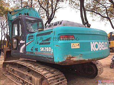 神钢260挖掘机低价转让 便宜处理