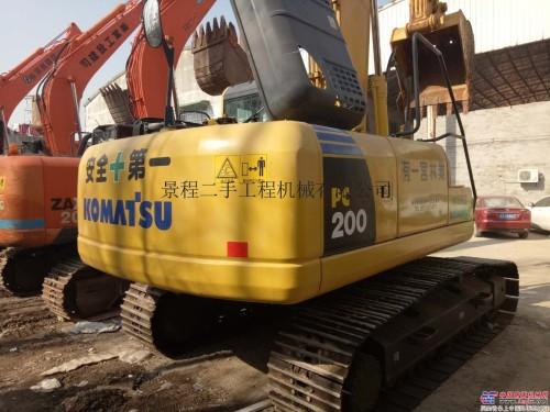 昆明二手挖掘机市场:二手小松220、240、350挖掘机价格