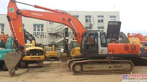 遵义二手挖掘机市场;二手日立200、210、350挖掘机价格