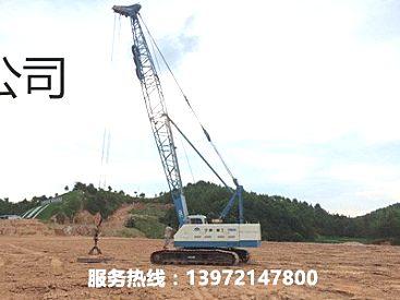 专业的强夯施工队伍的技术改善基土透水性